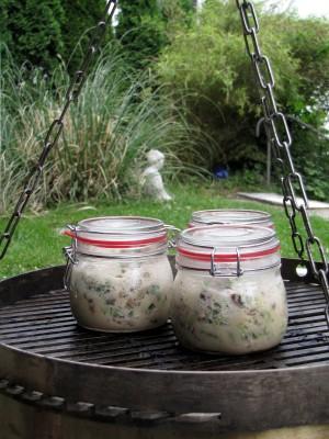 BBQ jars